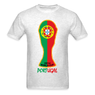 T-Shirts ~ Men's T-Shirt ~ Portugal World Cup 2014 Trophy Shirt