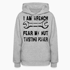 I AM Wrench Hoodies