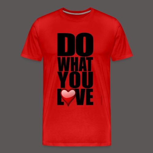 LOVE 1 - Men's Premium T-Shirt