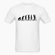Evolution Singer T-Shirts