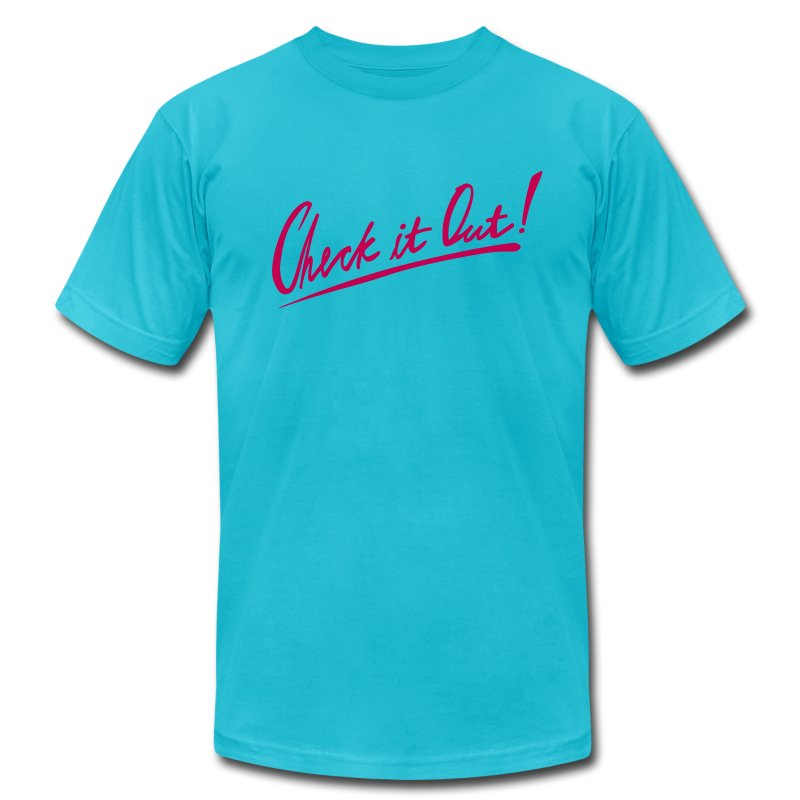 Check it out! - Men's T-Shirt by American Apparel