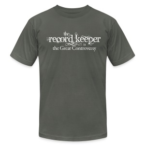 the record keeper is the great controversy - men's - Men's Fine Jersey T-Shirt