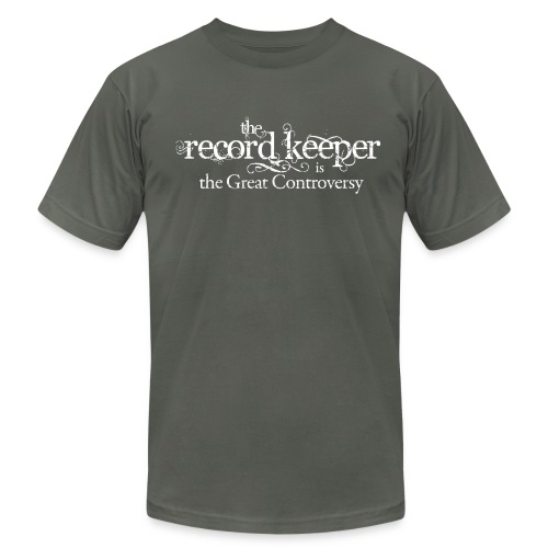 the record keeper is the great controversy - men's - Men's T-Shirt by American Apparel
