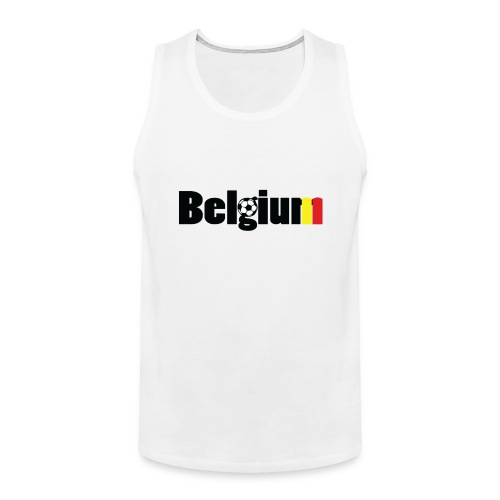 GO GO Belgium Men's tank top - Men's Premium Tank