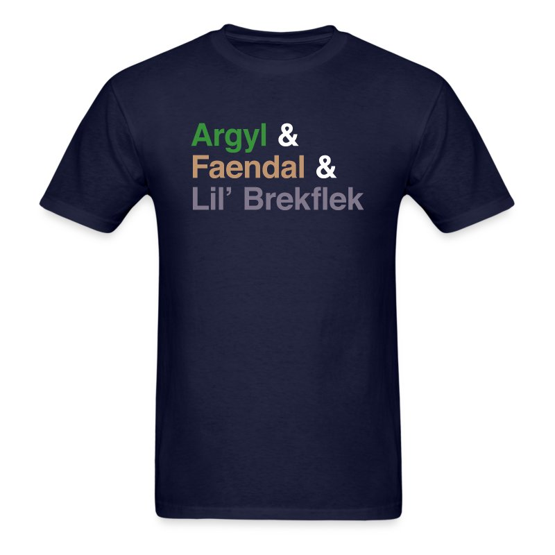 Argyl & Friends (Men's) - Men's T-Shirt