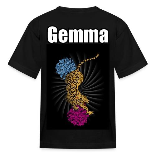 Gemma's Racing Jersey short sleeve - Kids' T-Shirt