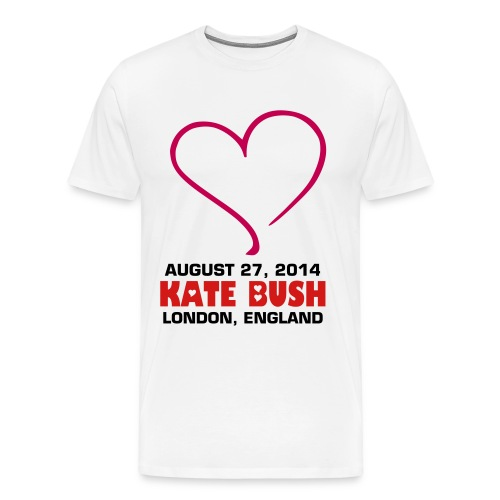 Kate-Bush_Aug27_003 - Men's Premium T-Shirt