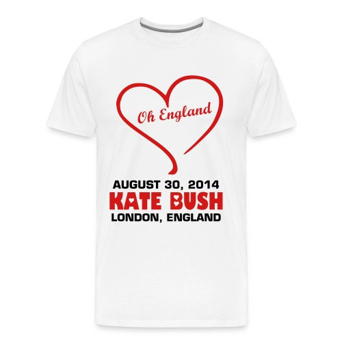 Kate-Bush_Aug30_004 - Men's Premium T-Shirt
