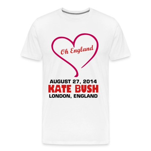 Kate-Bush_Aug27_004 - Men's Premium T-Shirt