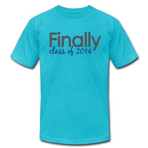 Finally Class of 2014 Grad - Men's  Jersey T-Shirt