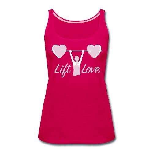Lift Love Women's Premium Tank - Women's Premium Tank Top