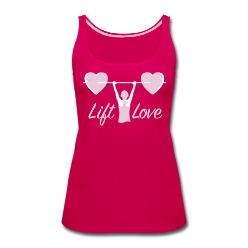 Lift Love Women's Premium Tank - Women's Premium Tank Top