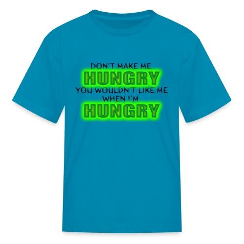 Hungry - Big Eyed Foodie - Kids' T-Shirt