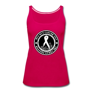 Bug Out Cancer Patch - Women's Premium Tank Top