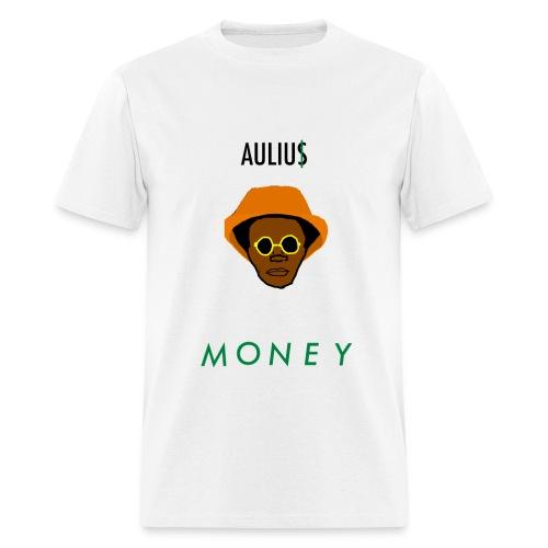 Aulius MONEY x MAGMA White Tee - Men's T-Shirt