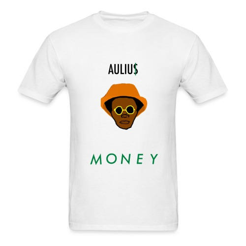 Aulius MONEY x MAGMA White Tee - Men's T-Shirt