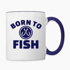 Born to Fish Bottles & Mugs