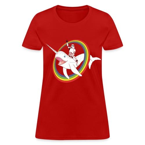 Rainbow Troops! - Women's T-Shirt