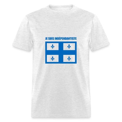 Je suis indépendantiste (Québec) - Men's T-Shirt