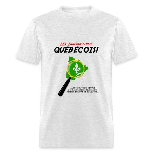 Les Irréductibles Québécois - Men's T-Shirt