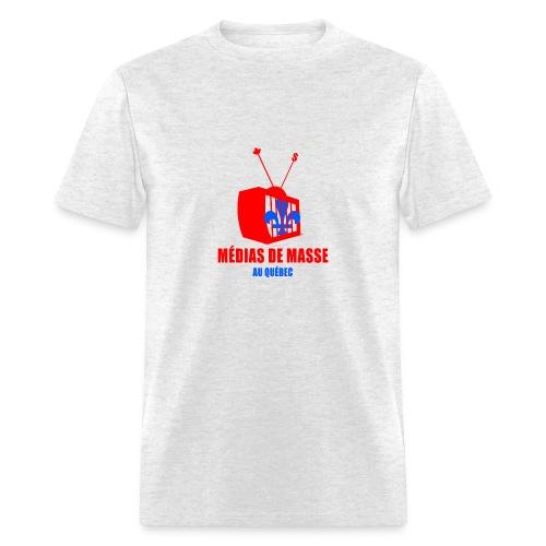 Médias de Masse au Québec - Men's T-Shirt