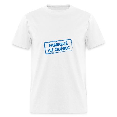 Fabriqué au Québec - T-shirt pour hommes