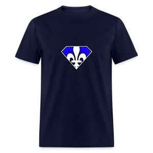Super Québec - T-shirt pour hommes