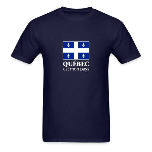 Québec est mon pays  - Men's T-Shirt