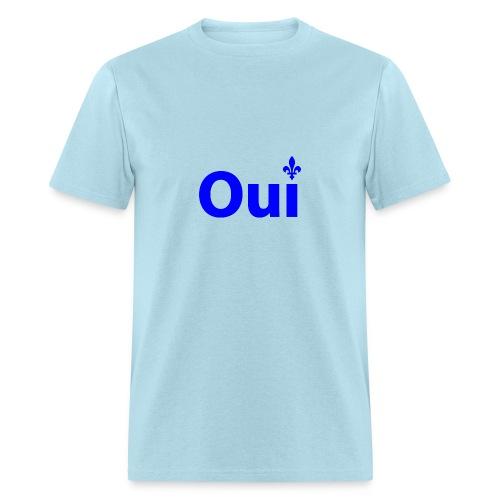 OUI Québec  - T-shirt pour hommes