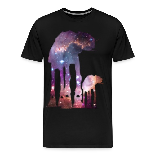 At-At's In Space! - Men's Premium T-Shirt