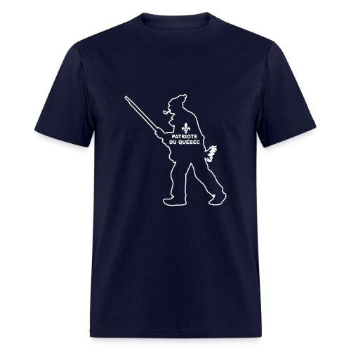 Patriote Québécois - T-shirt pour hommes