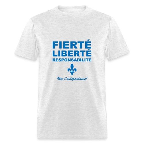 FIERTÉ LIBERTÉ Québec - Men's T-Shirt