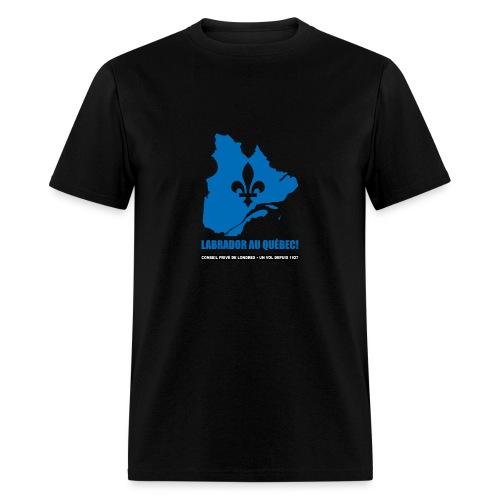 Labrador au Québec  - Men's T-Shirt