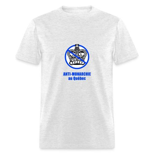 Anti-monarchie au Québec  - Men's T-Shirt