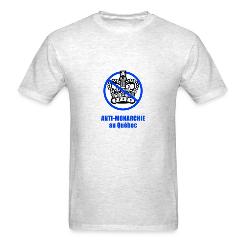 Anti-monarchie au Québec  - Men's T-Shirt