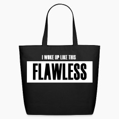 FLAWLESS SHOPPING TOTE BAG