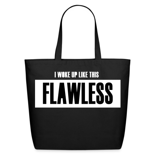 FLAWLESS SHOPPING TOTE BAG - Eco-Friendly Cotton Tote