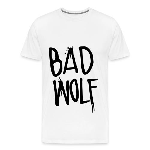 Bad wolf White Tee - Men's Premium T-Shirt