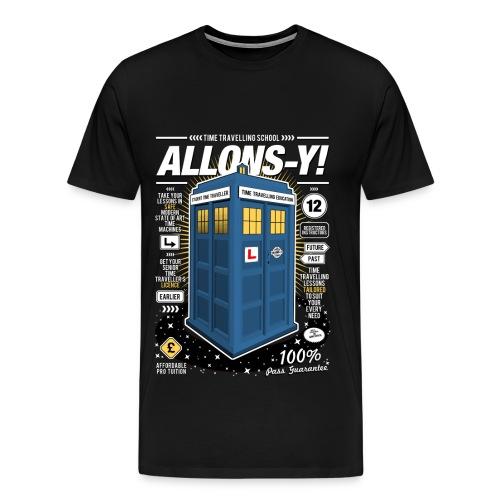 Time Traveling Tee - Men's Premium T-Shirt