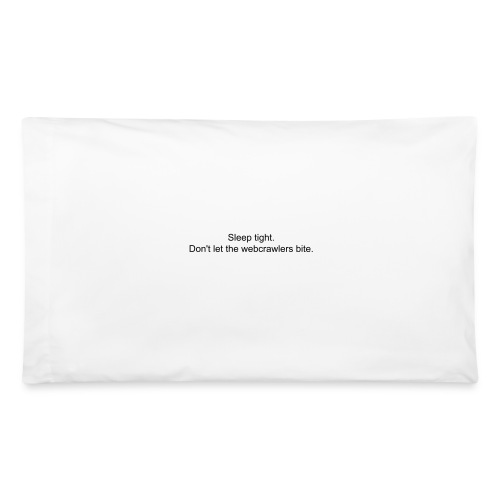 Black Ice Pillowcase - Pillowcase