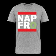 T-Shirts ~ Men's Premium T-Shirt ~ NAPFRO STAMP (GREY)