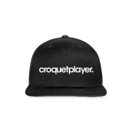 Sportswear ~ Snap-back Baseball Cap ~ croquetplayer Snapback