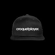 Caps ~ Snap-back Baseball Cap ~ croquetplayer Snapback