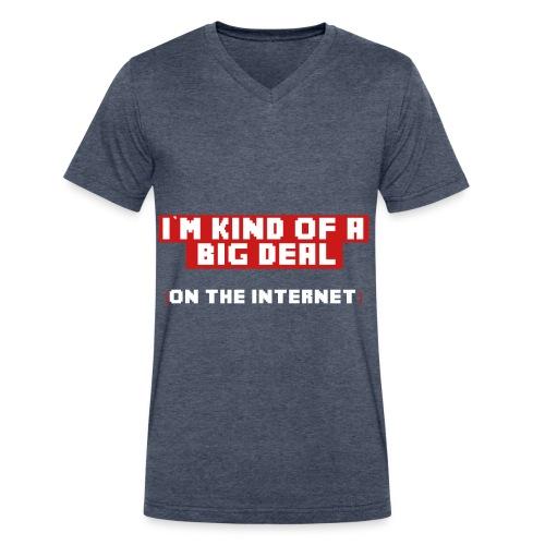 Big Deal V-Neck Tee - Men's V-Neck T-Shirt by Canvas