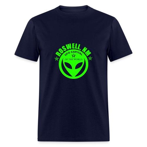 Roswell, NM UFO Capital - Men's T-Shirt