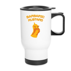 Coffee with Mustard - on the go! - Travel Mug