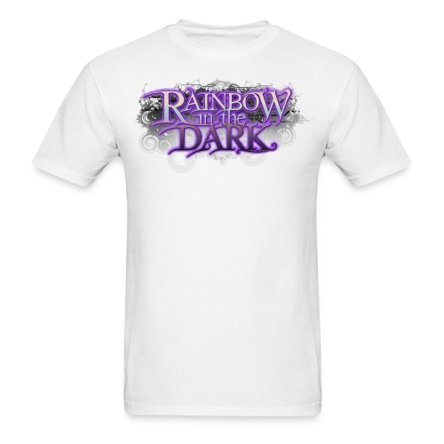 Rainbow in the Dark Official Logo: Men's - Men's T-Shirt