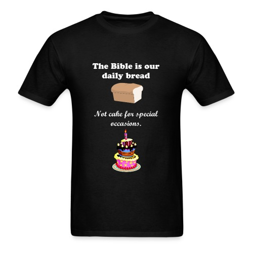 Cake and Bread  - Men's T-Shirt
