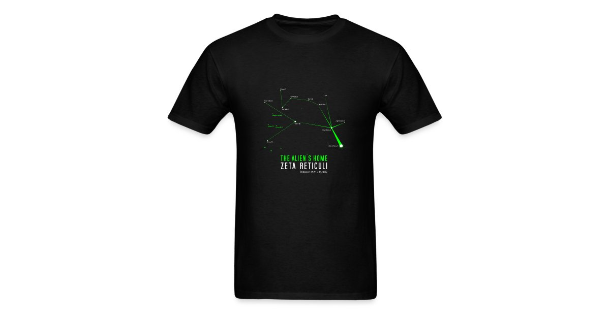 Roswell Boutique | Zeta Reticuli Aliens - Mens T-Shirt