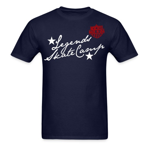 LEGENDS Skate Camp Made In USA T-Shirt - Men's T-Shirt